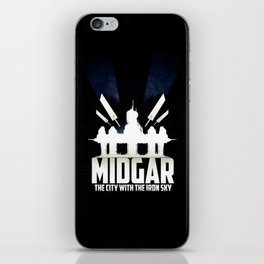 Final Fantasy VII - City with the Iron Sky iPhone Skin