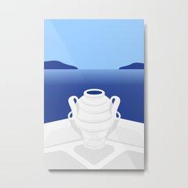 Santorini #03 Metal Print