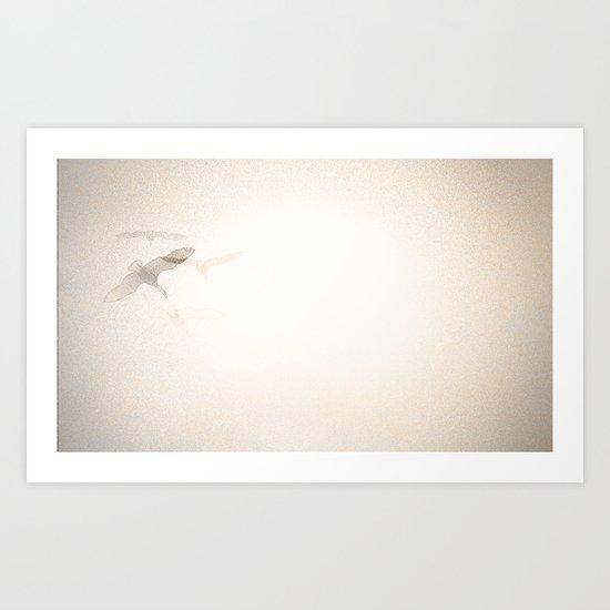 { OVERHEAD } Art Print