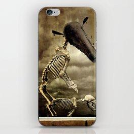 Pet Skeleton iPhone Skin