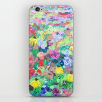 texas iPhone & iPod Skins featuring Texas Wildflowers by Ann Marie Coolick