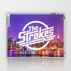 The Strokes Logo New York Night Laptop & iPad Skin