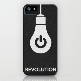 Revolution 01 iPhone Case