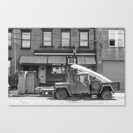Sunny's Side of the Street Canvas Print