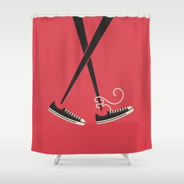 Chopstick Chucks Shower Curtain