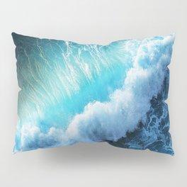 Waving Blue Pillow Sham