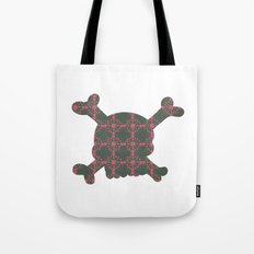 pattern with skull Tote Bag