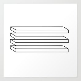 Optical Illusion #5 Art Print
