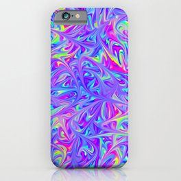 Lost in time and space iPhone Case