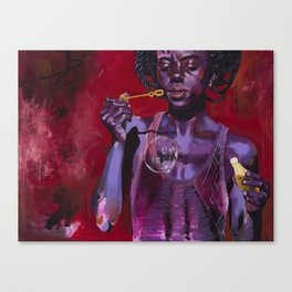 OVRJYD (over joyed) Canvas Print