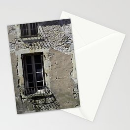 In France, by the window. Stationery Cards