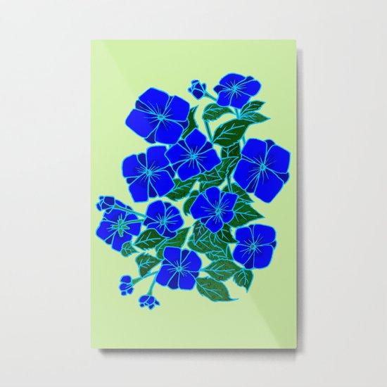 Blue Violets #5 Metal Print