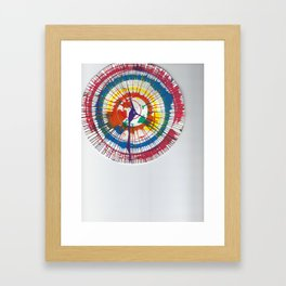 Colorful Spin Framed Art Print