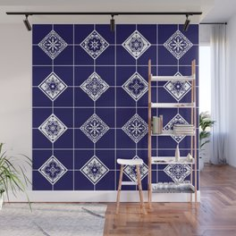 Talavera Mexican Tile – Porcelain Palette Wall Mural
