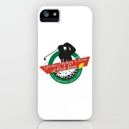 Golf Sport iPhone Case