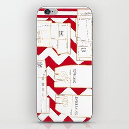 Seaside Stripes Slopers iPhone Skin