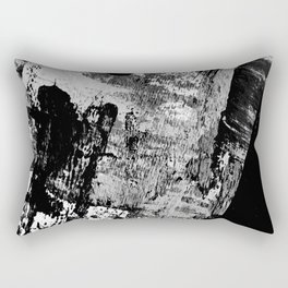 Black and White 01013 Rectangular Pillow