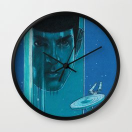 Live Long & Prosper Wall Clock
