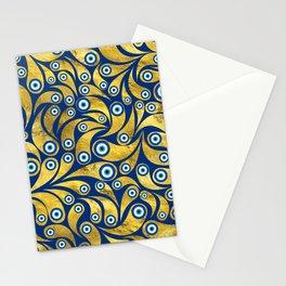 Nazar Amulet Paisley pattern #2 Stationery Cards