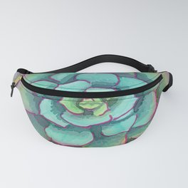 Sunset Succulent Fanny Pack