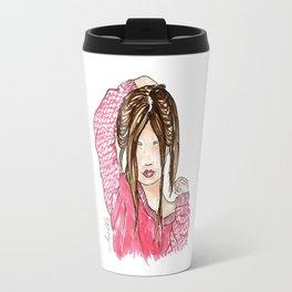 El'Lee Fashion Illustration Travel Mug