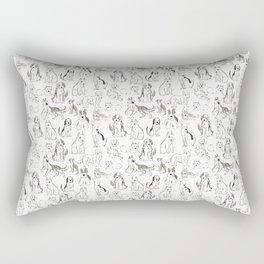 Going Mutts! Rectangular Pillow