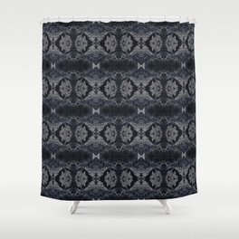 CharcolFleck Shower Curtain