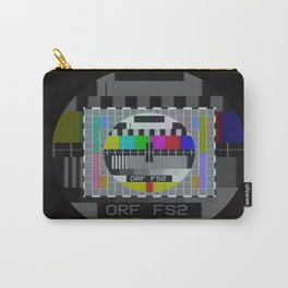 Old TV test pattern Carry-All Pouch