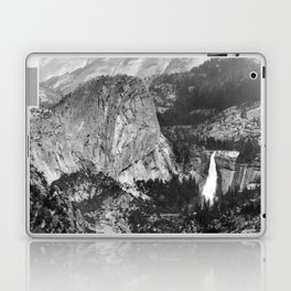 Vernal Falls and Nevada Falls in Yosemite National Park, California, 1901 Laptop & iPad Skin