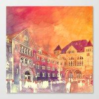 takmaj Canvas Prints featuring street in Poznan part 2 by takmaj