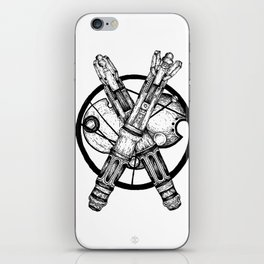 Dr Who Sonic Screwdriver iPhone Skin