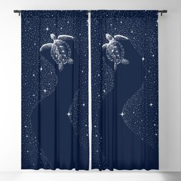Starry Turtle Blackout Curtain