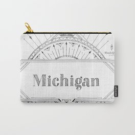 Art Deco Michigan Carry-All Pouch