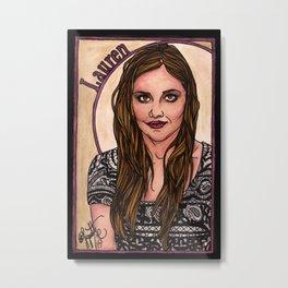 Lauren Metal Print