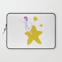 Reach for the Stars - Yellow Laptop Sleeve