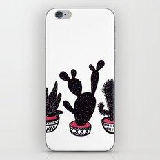 cactus row iPhone Skin