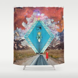 Bizarre Encounter Shower Curtain
