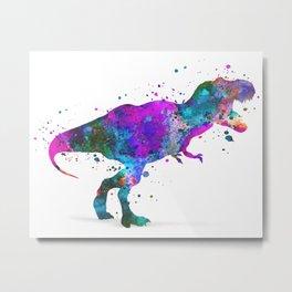 T-Rex Dinosaur Metal Print