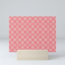 Coral Shibori Mini Art Print