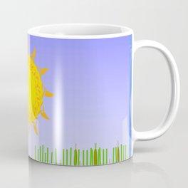 Egrets Fishing Coffee Mug
