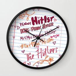 Penny Hartz Wall Clock