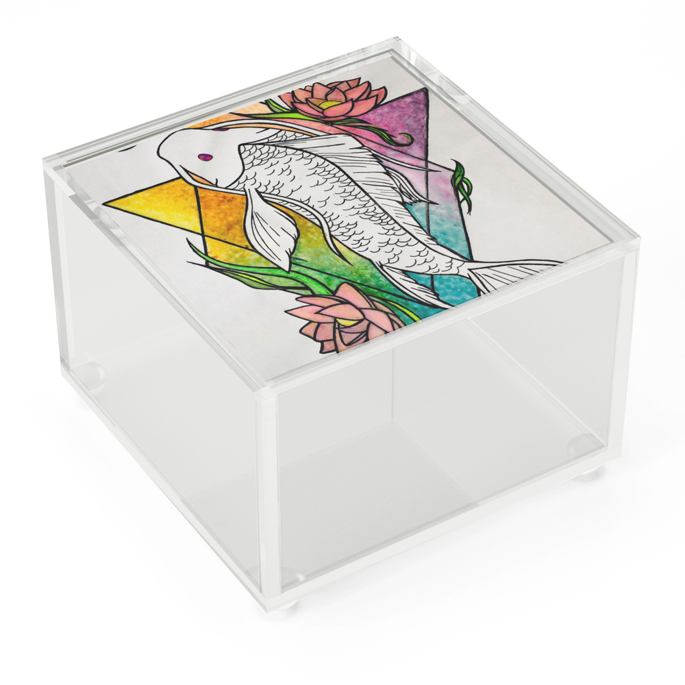 Koi_Fish_Geometrical_Acrylic_Box_by_skeptical_creatures6