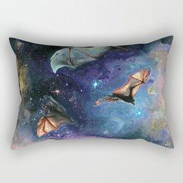 Scream of a Great Bat Rectangular Pillow