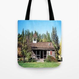 Historical Blanchard Flat Schoolhouse... Tote Bag