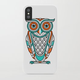 Art Deco Owl iPhone Case