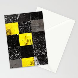 square collage Stationery Cards