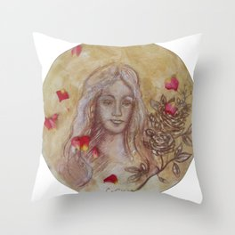 Bambina toscana Throw Pillow