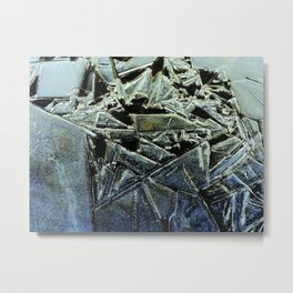 The Illusion of the Shattered Self Metal Print
