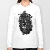 king Long Sleeve T-shirts featuring The King by nicebleed