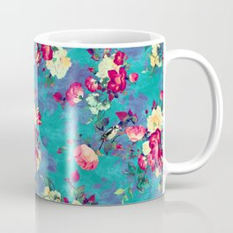 Flowers & Birds II Coffee Mug